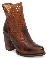 Bed Stu - Irma Perforated Boot - Lyst