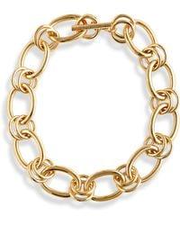 St. John Chain Necklace - Metallic
