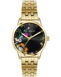 Ted Baker Fitzrovia Bloom Bracelet Watch - Black