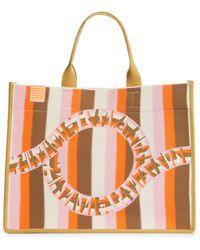 Zimmermann Stripe Jacquard Tote - Multicolor