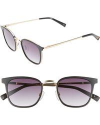 Le Specs - 49mm Horn Rim Sunglasses - - Lyst