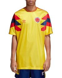 adidas Originals - Colombia Soccer Jersey - Lyst