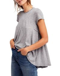 Free People - It's Yours Tee - Lyst