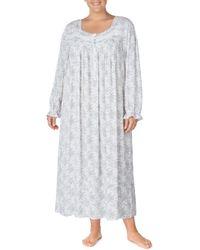 Eileen West - Long Sleeve Nightgown - Lyst