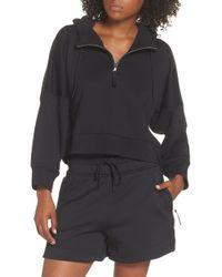Nike - Lab Collection Women's Half Zip Fleece Hoodie - Lyst