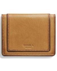 Shinola Outlaw Folding Card Case - Multicolor