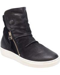 Miz Mooz Lavinia Sneaker Boot - Black