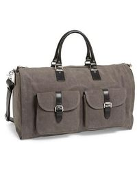 Hook + Albert | Canvas Garment/duffel Bag | Lyst