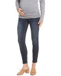 1822 Denim - Maternity Ankle Skinny Jeans - Lyst