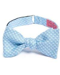 Vineyard Vines - Whale Print Silk Bow Tie - Lyst