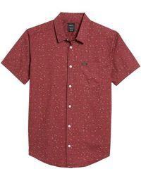 RVCA | Jaded Woven Shirt | Lyst