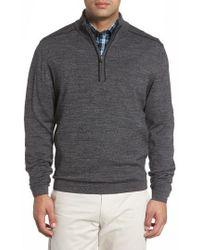 Cutter & Buck - Henry Quarter-zip Pullover Sweater - Lyst