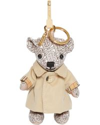 Burberry - Thomas Bear Charm In Trench Coat - Lyst