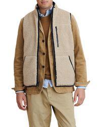 Alex Mill Reversible Fleece Vest - Multicolor
