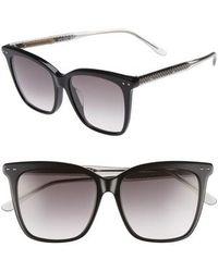 Bottega Veneta - 54mm Square Sunglasses - Lyst