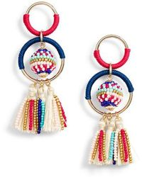 Rebecca Minkoff - Blair Ball & Hoop Earrings - Lyst