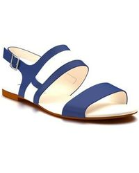 Shoes Of Prey - Strappy Slingback Sandal - Lyst