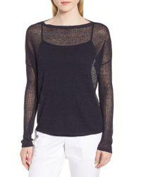 Nordstrom - Rib Knit Pullover - Lyst