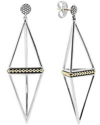 Lagos - 'ksl' Pyramid Drop Earrings - Lyst