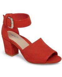 T Tahari Piper Sandal - Red