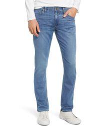 PAIGE Transcend - Lennox Slim Jeans - Blue