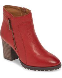 Lucky Brand Nilafa Waterproof Bootie - Red