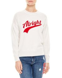 Sandro - Alright Wool & Cashmere Sweater - Lyst
