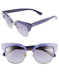 Kate Spade - Karri 53mm Sunglasses - - Lyst