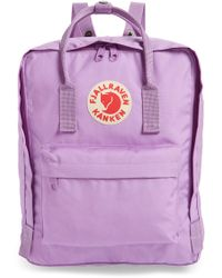 Fjallraven - Fjällräven Kånken Water Resistant Backpack - Purple - Lyst