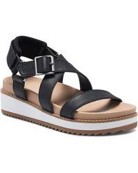 Lucky Brand - Idenia Wedge Sandal - Lyst