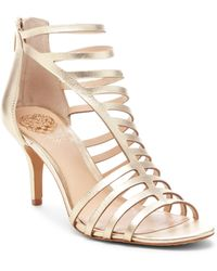 Vince Camuto - Women's Petronia High - Heel Cage Sandals - Lyst