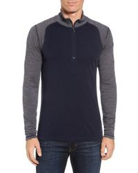 Smartwool - Mid 250 Quarter Zip Merino Wool Pullover - Lyst