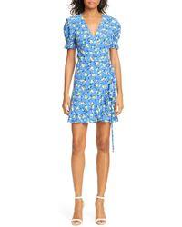 Diane von Furstenberg Emilia Dress - Blue