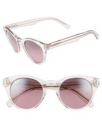 Maui Jim - Dragonfly 49mm Polarized Cat Eye Sunglasses - Crystal Pink/ Maui Rose - Lyst