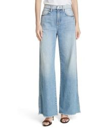Joie - Isemene Wide Leg Jeans - Lyst