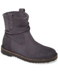 Birkenstock Luton Slouch Boot - Discontinued - Gray