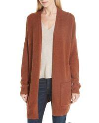 Eileen Fisher - Long Organic Cotton Blend Cardigan - Lyst