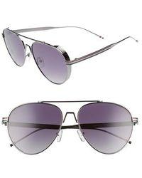 Privé Revaux - The Scholar 53mm Aviator Sunglasses - Lyst