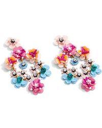 J.Crew | J.crew Stone & Blossom Earrings | Lyst