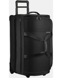 Briggs & Riley Baseline 27-inch Medium Rolling Duffle Bag - Black