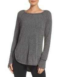 Zella | Don't Sweat It Sweater | Lyst