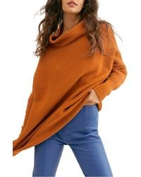 Free People Ottoman Slouchy Tunic - Orange