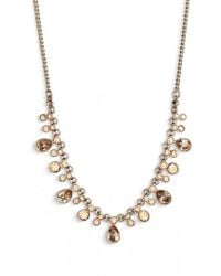 Givenchy - Crystal Necklace - Lyst