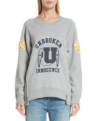 Undercover - Unbroken Innocence Sweatshirt - Lyst