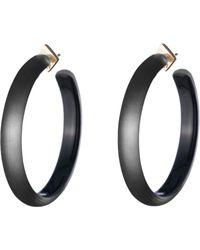Alexis Bittar - Large Lucite Hoop Earrings - Lyst