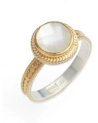 Anna Beck | Semiprecious Stone Ring | Lyst