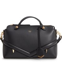 0b99a1ded0ca Fendi - By The Way - Wonders Convertible Leather Shoulder Bag - Lyst