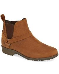 Teva - Dina La Vina Dos Waterproof Leather Chelsea Boot - Lyst