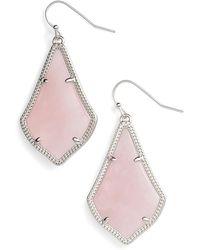 Kendra Scott Alex Drop Earrings - Pink