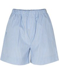 Samsøe & Samsøe Laury Shorts - Blue